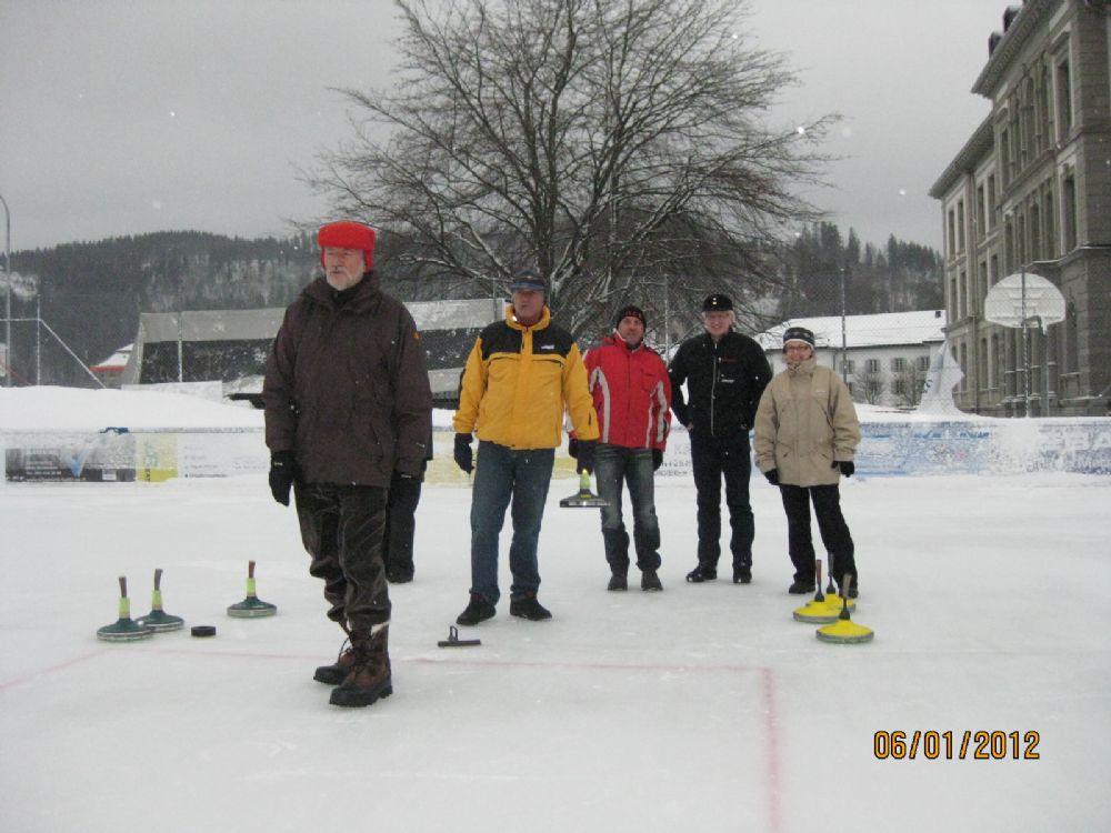 Eisstock Grümpelturnier 2012 3
